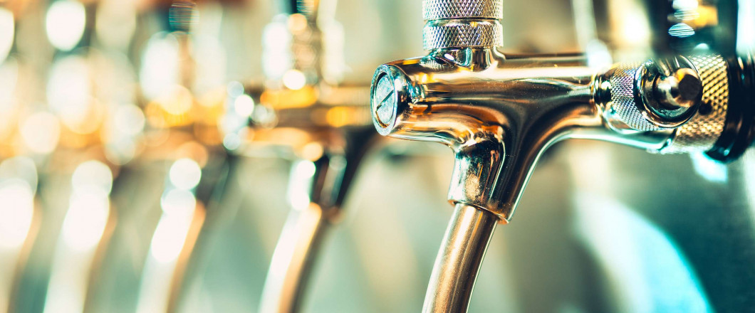 Cold beverages on tap