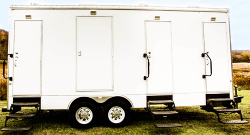 Provide people with the luxury of a shower trailer rental